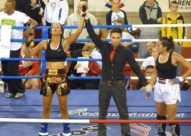 Betty Corréa championne du monde de Kick boxing