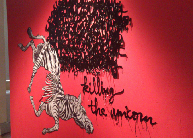 Killing the unicorn, Soleïman Badat et Jean-Marc Lacaze