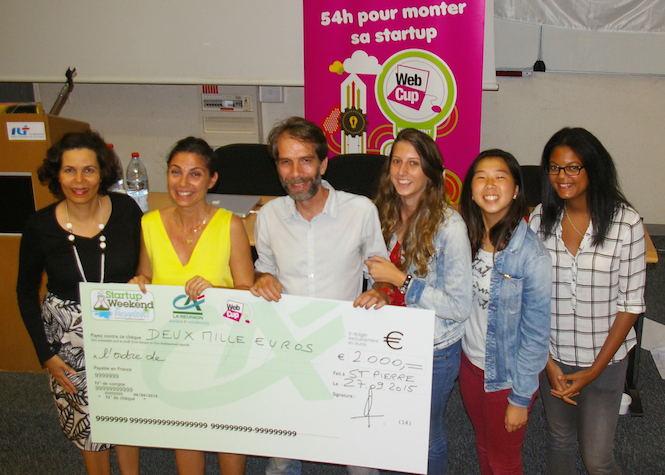 """Story Enjoy"" remporte le Startup Weekend"