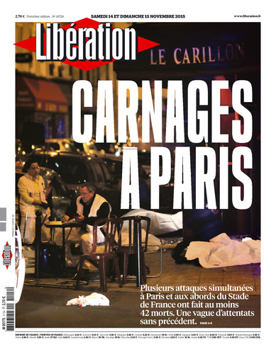 Attentats à Paris: Les Unes de la presse nationale et internationale