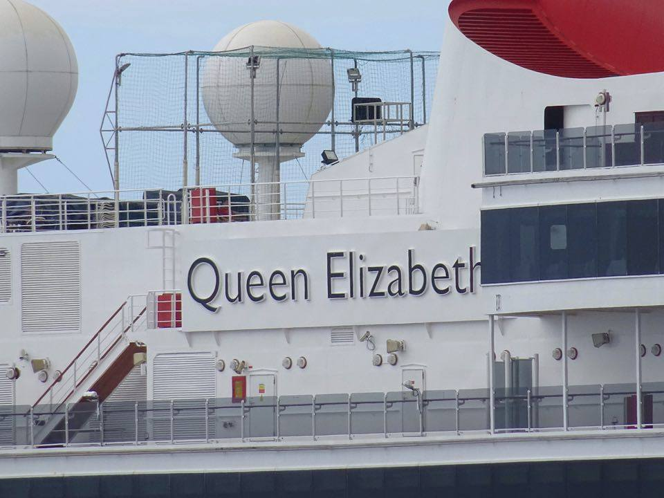 Vos photos du paquebot Queen Elizabeth