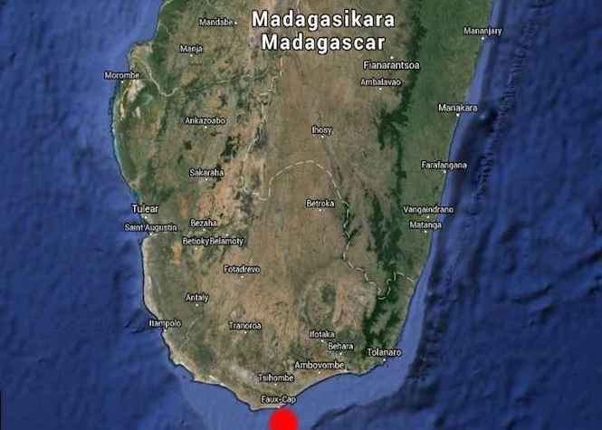 Madagascar: Un vraquier s'échoue, menace imminente de pollution maritime