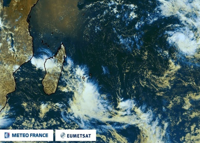 Emeraude devient cyclone tropical