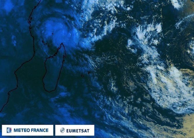 Fantala redevient cyclone tropical intense