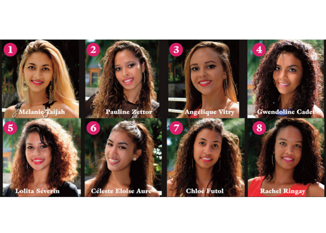 Miss Avirons 2016 : Les candidates