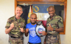 "Champion de France de kick boxing et ""enfant"" du RSMA"