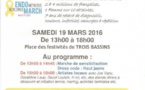 Trois Bassins : Marchons ensemble contre l'endométriose le 19 mars