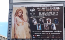 Gold Rush Tour: Paris Hilton en compagnie de 7 DJs