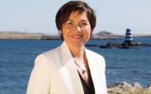 Photo Twitter d'Annick Girardin à Saint-Pierre et Miquelon