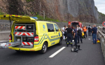 Accident route du Littoral : Un motard de la Police chute